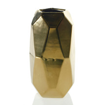 "MAVEN VASE 4.25""x8"" GOLD EACH"