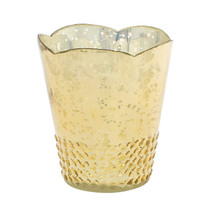 "ARRAY VOTIVE 4.5""x5.25"" LT. GOLD EA."