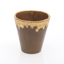 "HAVANA POT 5.5""x5.5"" GOLD EACH"