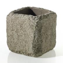 """Gravel Pot Gray 6"""" x 6.25"""""""