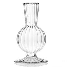 """Boutique vase 3"""" x 4.5"""" Clear ea."""