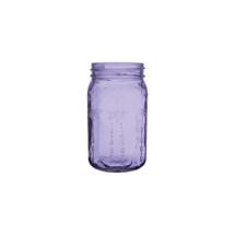 """Jardin vintage jar 5 1/2"""" Purple 24cs"""