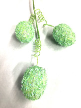 "Easter Egg Green glitter spray 16.5"" each"