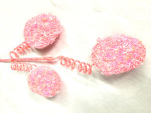 """Easter Egg Pink glitter spray 16.5"""" each"""