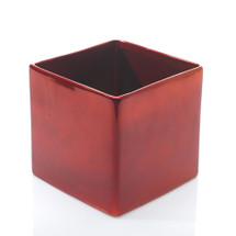 "Urban metallic red 6.25"" x 6.2"