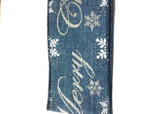 #40 DWI snowmerry denim 10yrds