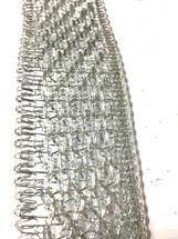 #9 DWI crushed silver 10yrds