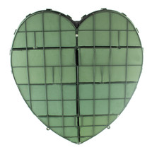 "Heart solid 24"" plastic back each"