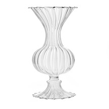 "Addi vase 3"" x 6"" clear each"