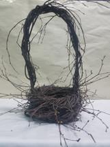 "Birch basket 6"" (no liners)"