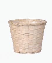 "Pot Cover 12"" White Wash MS1745-12WW each"