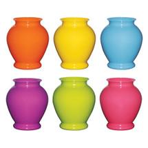 """Pl Ginger vase 5"""" Popsicle #23 24cs"""