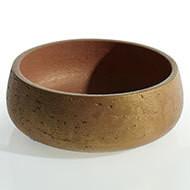 "Mecca bowl 11.5"" x 4.5"" gold"