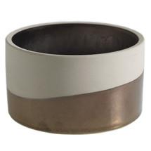 "Qdoba bowl 5.25"" x 3"" bronze"