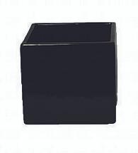 """Square black 5""""x5""""x5"""" each"""