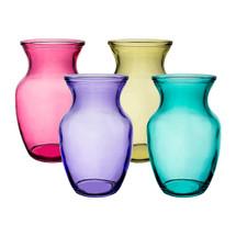 "Rose vase 8"" lollipop asst 4999"