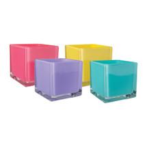 """Cubes 5""""x5""""x5"""" Opaque lollipop 12cs"""