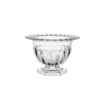 "Abby compote 4 1/4"" crystal 12/cs"