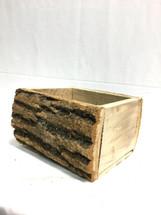 """Log box heavy 8"""" x 5.5"""" ea"""