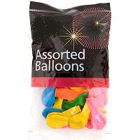 Balloon Assst 100/pk