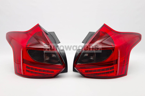 Rear light set smoked red LED Ford Focus 11-15 Upgrade