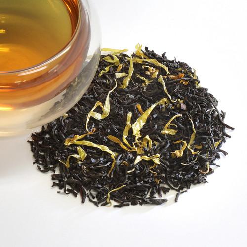 Ginger Peach Black Loose Leaf Tea