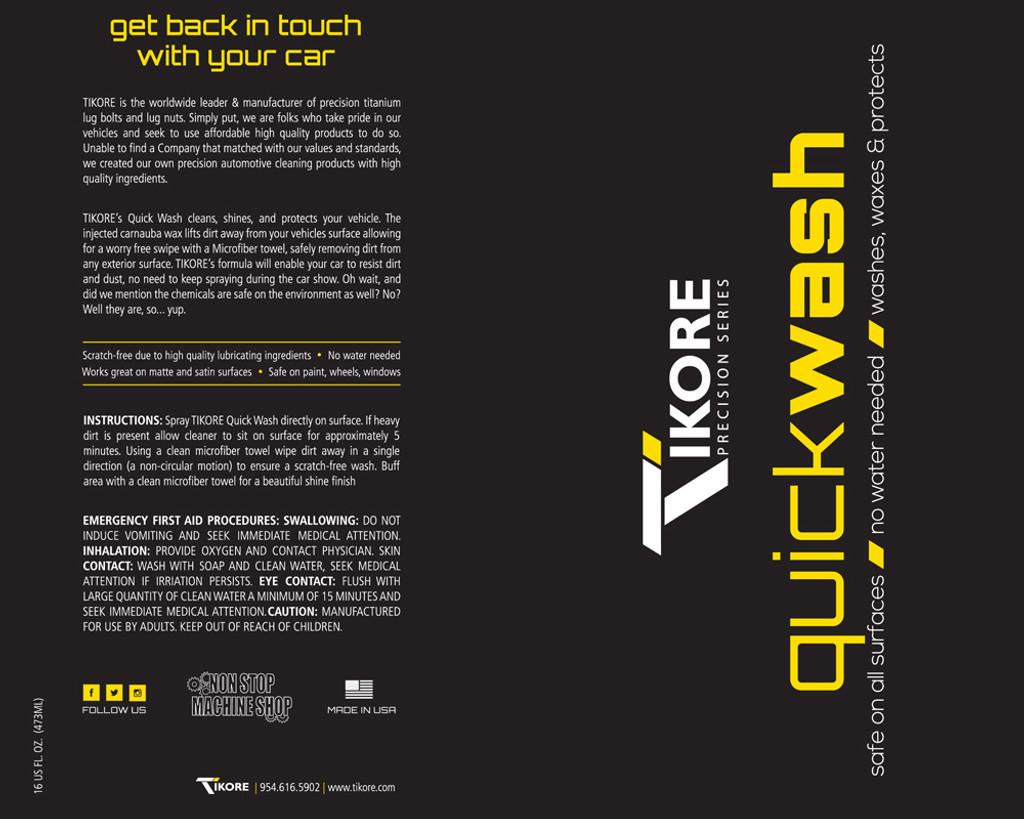 TIKORE Quick Wash (Precision Series) – Yellow/Bubble Gum