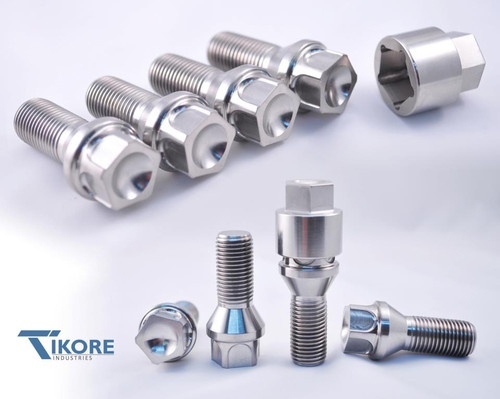 Lamborghini Titanium Lug Bolt Set + Security