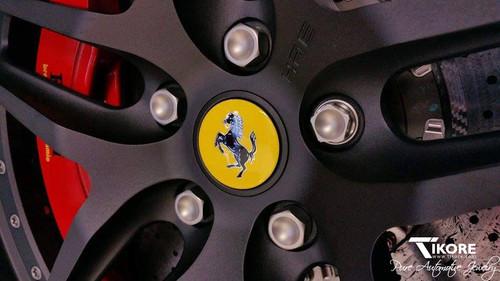 Ferrari Titanium Lug Bolt Set - OEM style 52mm + Security