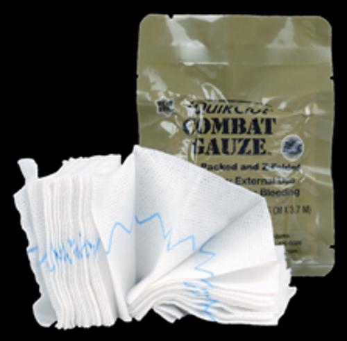 QuikClotŒ¬ Combat Gauze Z-Fold Mil-Spec