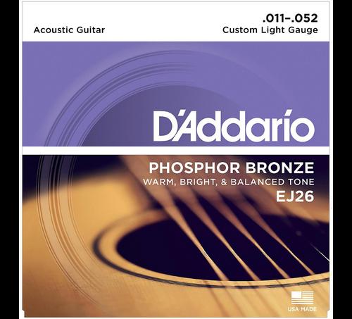 D'Addario Phosphor Bronze