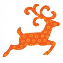 55353 - AccuQuilt Die -  Reindeer