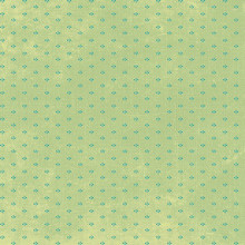 Devotion - Mini Print Green 1/2 Metre Length
