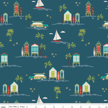 Offshore - Beachfront Navy 1/2 Metre Length