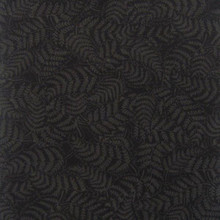 Fern Colour 2 Charcoal / Black  1/2 Metre Length