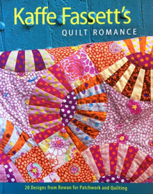 Kaffe Fassett - Quilt Romance   CHRISTMAS COUNTDOWN DAY ONE DEAL.   Buy the book and receive 2x Fat 1/4s from the new Kaffe Fassett range OFFER ENDS MIDDAY Monday 4/12/17  see details below