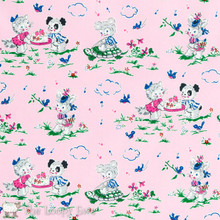 Strawberry Biscuit - Playdate Pink 1/2 Metre Length