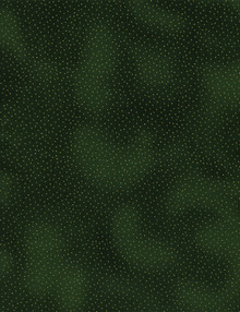 Holiday CM9528 Blenders Dots Green 1/2 Metre Length