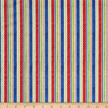 Santas Surprise Stripe 1/2 Metre Length