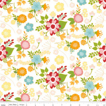 WISTFUL MAIN WHITE 1/2 Metre Length