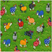 Rainbow Sheep Colour 101 1/2 Metre Length