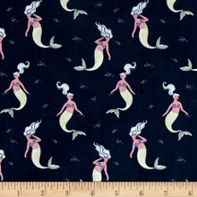 Into the Reef - Sirens Navy 1/2 Metre Length