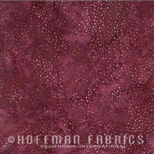 Bali Dot - 885-143 Ruby 1/2 Meter length