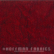 Bali Dot - 885-568 Red Velvet 1/2 Meter length