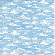 Sky Colour 2 Blue 1/2 Metre Length