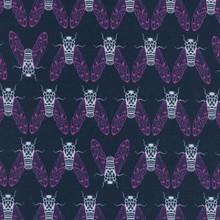 1937 Cicada Song Teal -Raindrop Collection by Rashida Coleman Hale 1/2 Meter length
