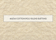 Batting 80/20 - 80% Cotton 20% Polyester mix -min cut  1 Metre - BIRTHDAY SPECIAL!
