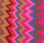 Zig Zag Brown PWPM062 per 1/2 metre length