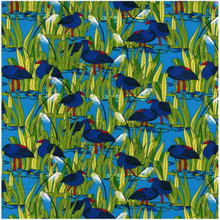 Wetlands Colour 2 Pukeko 1/2 Metre Length