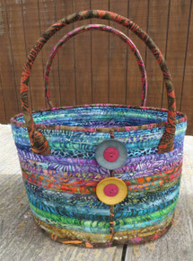 Camden Bag Kitset - Batik fabric colours may vary